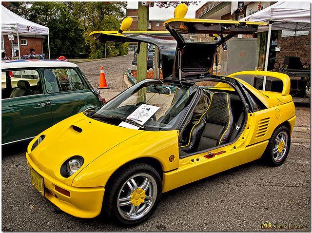 Mazda AZ-1 Yellow