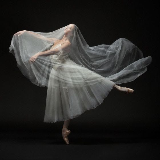 "<<Polina Semionova (American Ballet Theatre) in ""Giselle Festival"", Staatsballett Berlin (March 4, 2016) # Photo © Yan Revazov / Staatsballett Berlin>>"