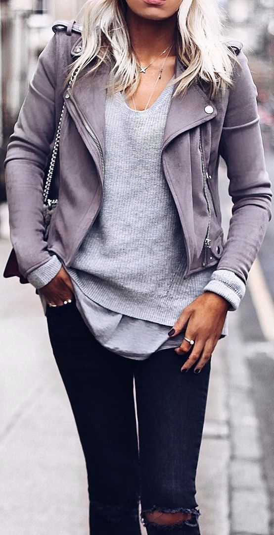 suede jacket is the new black