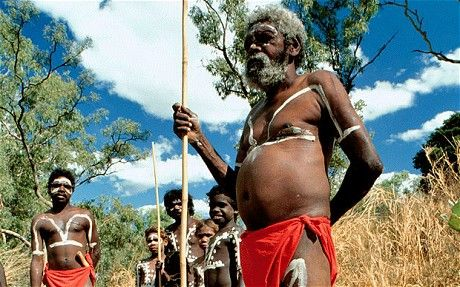 Australian Aborigines | family/clan of aboriginals, Darwin, Australia: Aboriginal genome ...
