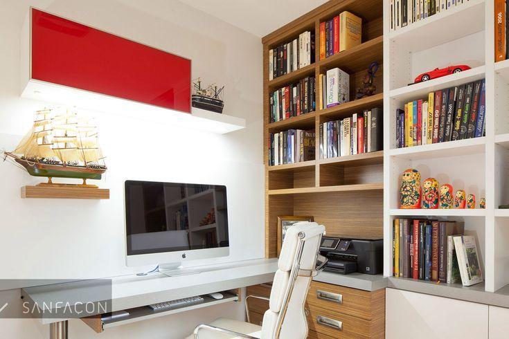 de 20 b sta id erna om bureau biblioth que p pinterest cote de travail grande biblioth que. Black Bedroom Furniture Sets. Home Design Ideas