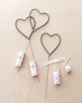 """See the """"Sparkler Matchboxes"""" in our DIY Wedding Favor Ideas for a Summer Fête gallery"""