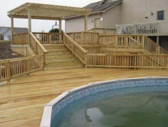31 best pool/deck on a slope images on pinterest   architecture