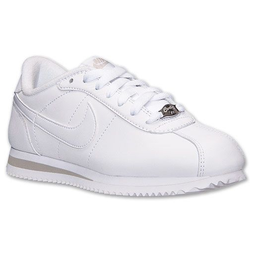 111 Finish Shoes 317266 Basic Leather Women's Cortez Nike Casual gxHa0