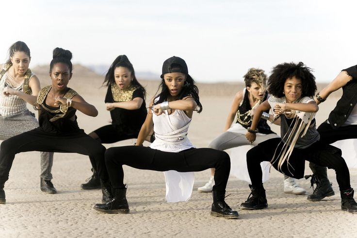 kid dancers on set of Ciara's `got me good` Passion for