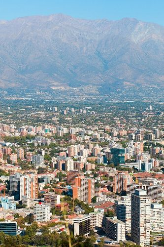 Santiago, Chile. I would love to visit my family again,this place is absolutely beautiful.