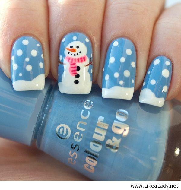 335 best Holiday Nail Art images on Pinterest | Holiday nail art ...