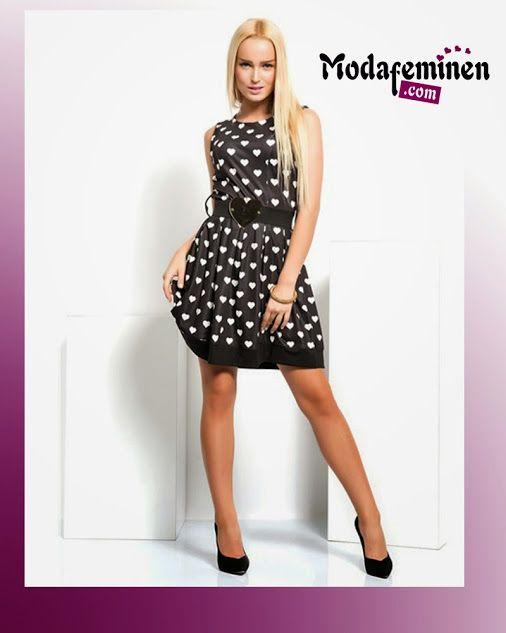 İroni Etek Ucu Garnili, Pileli ve Siyah Elbise Gösterişli elbiseler, zarafetin, gösterişin, kadınlığın ve ışıltının bir birleşimidir! Hemen İnceleyin: http://www.modafeminen.com  #Yeni #Yeniden #Kampanya #Elbise #Giyim