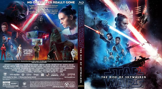 Star Wars Episode Ix The Rise Of Skywalker Bluray Cover In 2020 Movie Covers Dvd Covers Skywalker