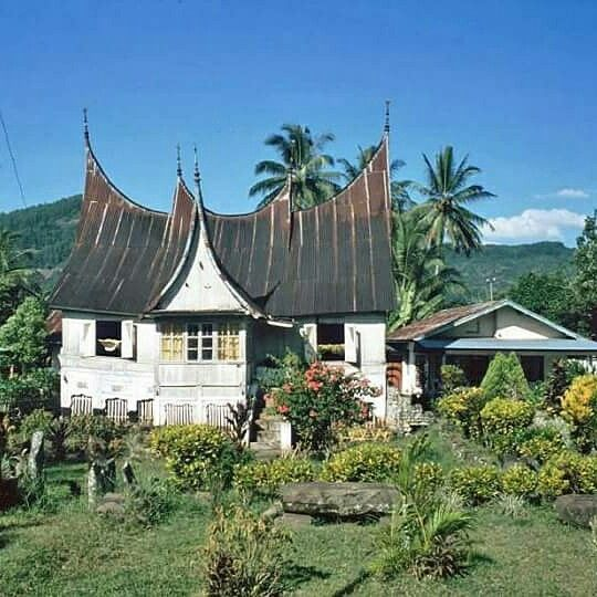 Tradisional House at minang kabau