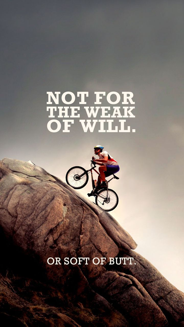 Quotes Mountain Bikes Wallpaper For Iphone X In 2020 Mountain Biking Quotes Bike Quotes Bike Ride