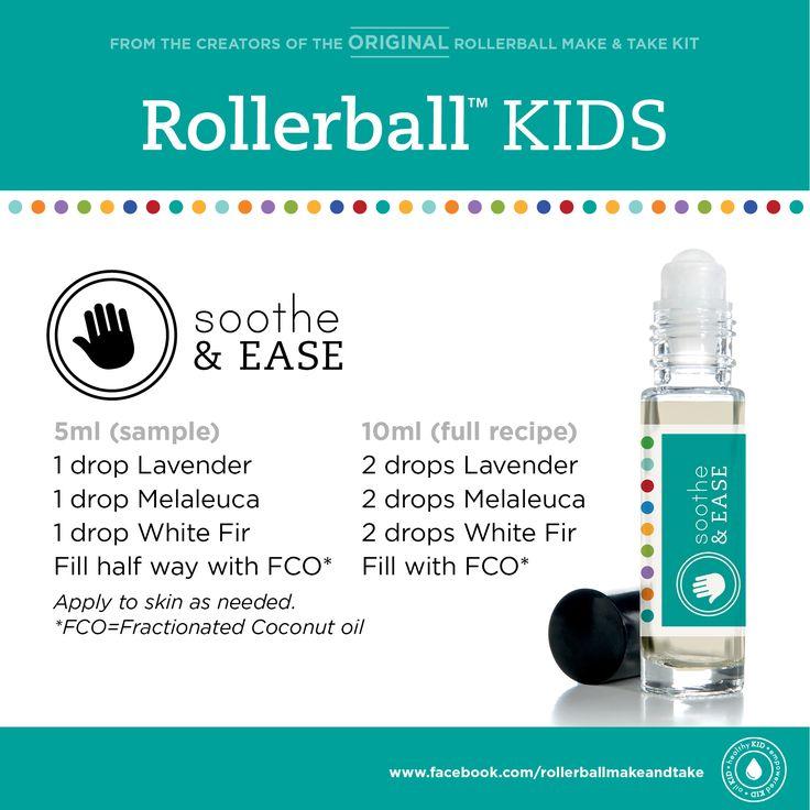 Soothe & Ease :: Rollerball KIDS Make & Take Workshop Kit #rollerball…