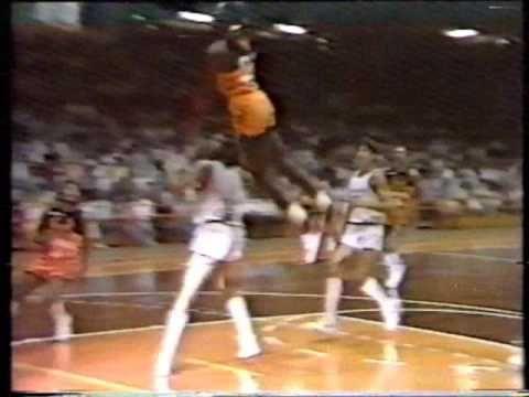 Michael Jordan Shattering The Backboard