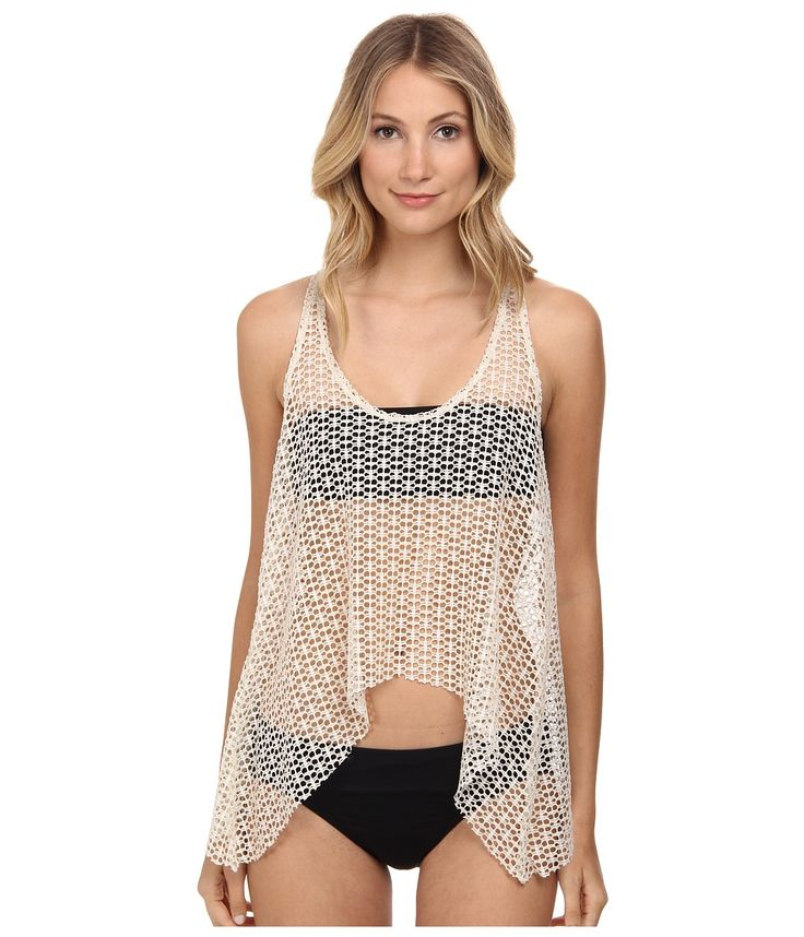 ELLA MOSS ELLA MOSS - DREAM WEAVER TANKINI (BLACK) WOMEN'S SWIMWEAR. #ellamoss #cloth #