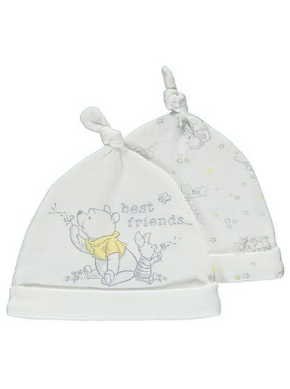 2 Pack Disney Winnie the Pooh Hats, read reviews and buy online at George at ASDA. Shop from our latest range in Baby. Top off your little ones style with th...