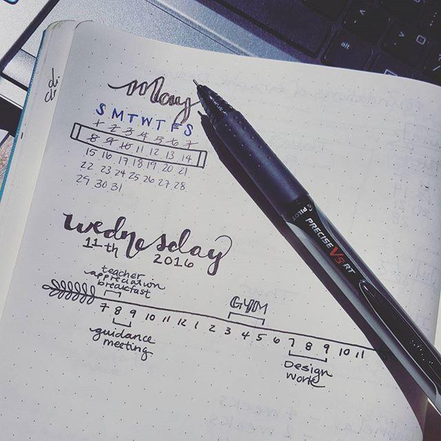 Pen used: Pilot Precise V5 RT Black Ink - bujo #organization #planning moleskine #leuchtturm1917