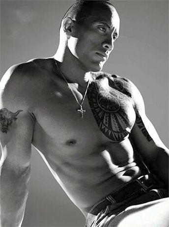 "My husband.  Dwayne ""The Rock"" Johnson"