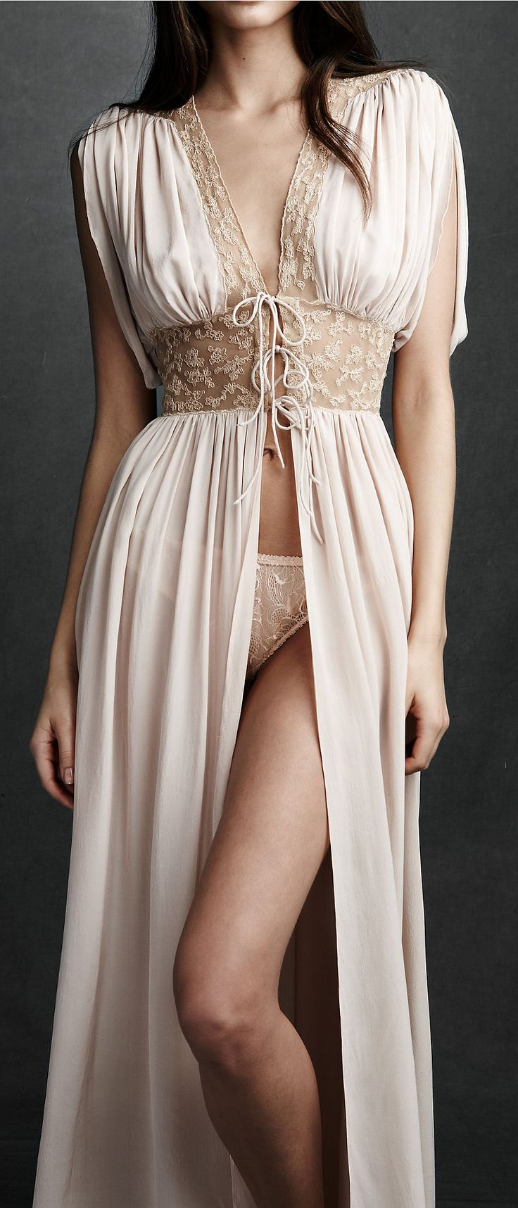 beautiful lingerie; penoir by bhldn, Anthropologie