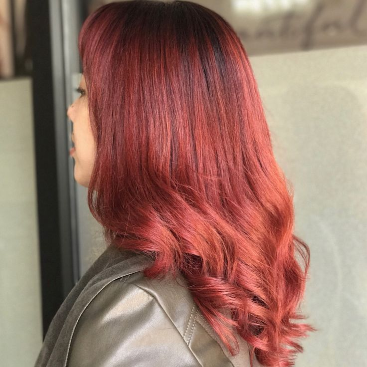 SANGRIA HAIR We love this fall hair color trend. Her color ...