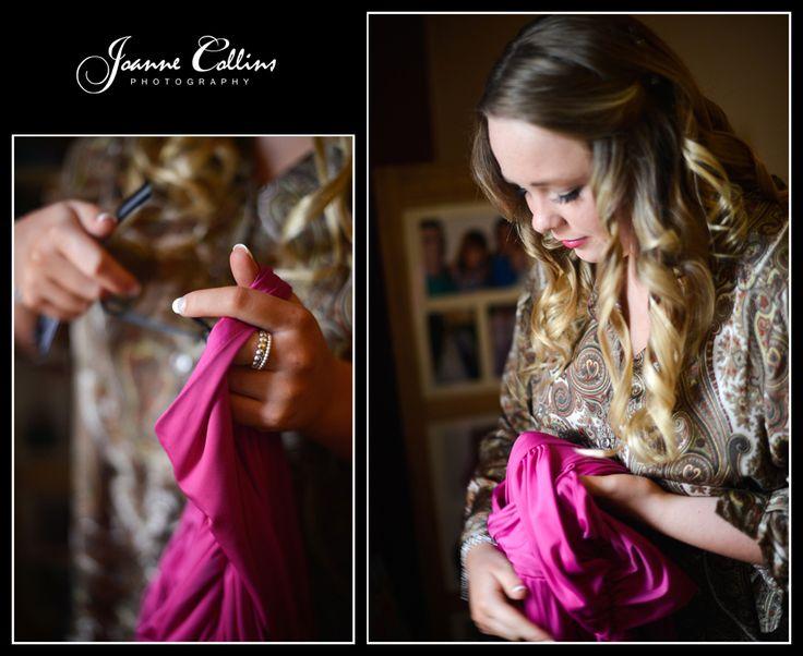 Chilham Castle Estate Wedding Photographer dress prep