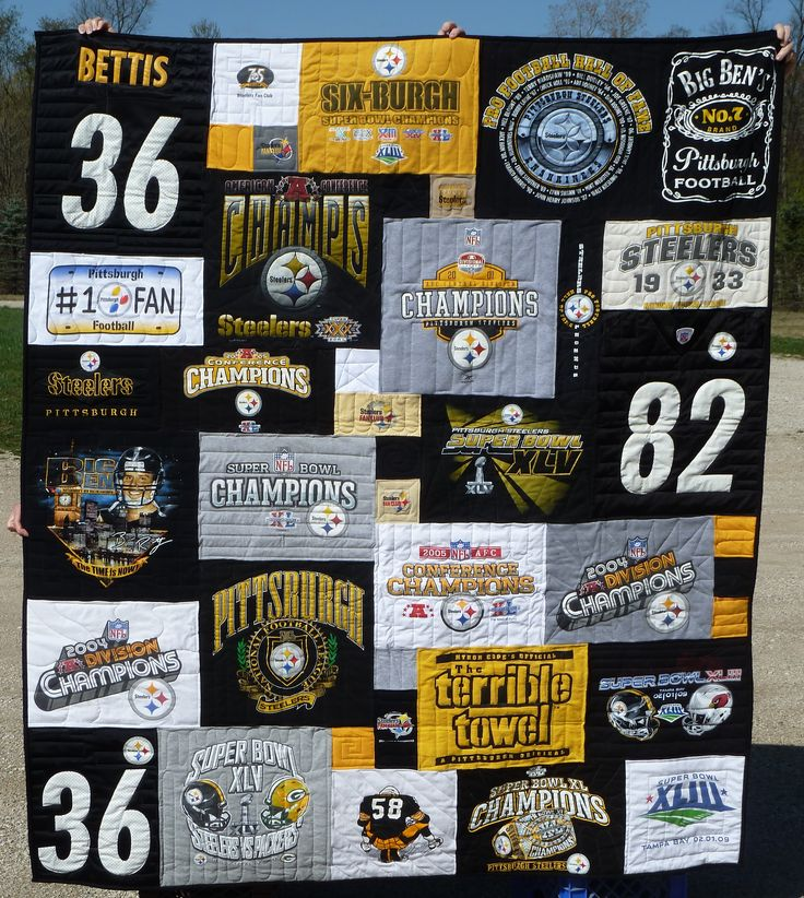 With 6 Super Bowl Championships under their belt, there's no doubt that Steelers fans have a lot to be proud of, so showcase that pride with Steelers Merchandise on Sunday from our Pittsburgh Steelers Store. Steelers Gear. The Steelers are a force in the AFC, so back them in Steelers Gear including T-Shirts and Hoodies.