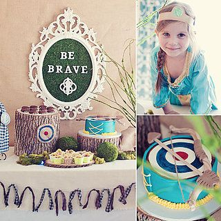 Brave Birthday Party Ideas Photo 1