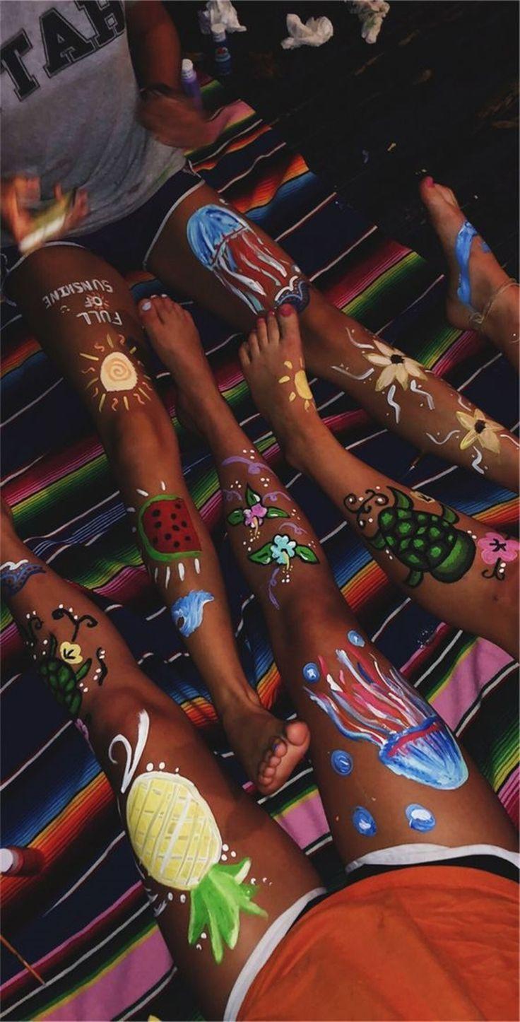 Mutige Bodypainting-Kunst-Ideen zum Ausprobieren, …