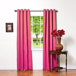 Hot Pink Blackout Curtains Kelly Green Blackout Curta