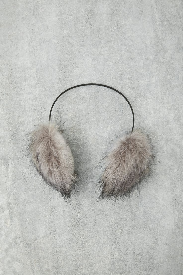 These fluffy ear muffs are our favourite seasonal accessory and also make the perfect present! #ChristmasWishes