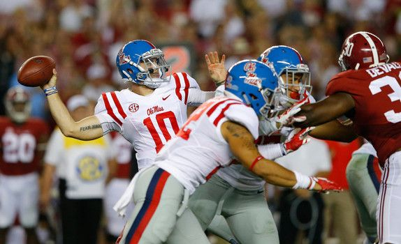 College football rankings: Ole Miss joins top five after defeating Alabama