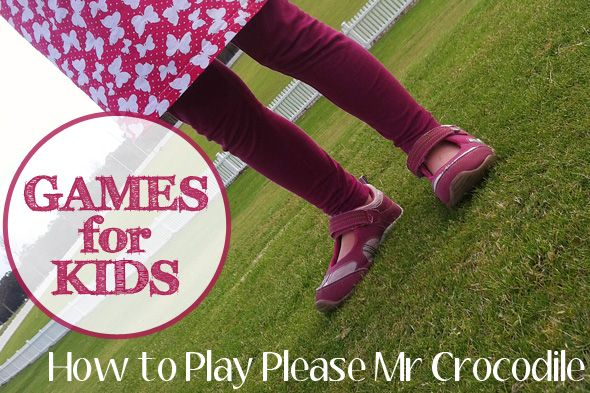 Games for Kids: How to Play Please Mr Crocodile. A popular childhood game with children in Australia.