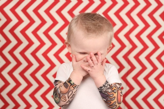 Onsie tattoo sleves! I want this for my child!!!
