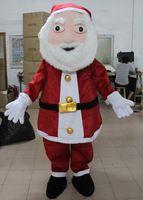 Père Noël costume pour adulte santa clause de mascotte costume