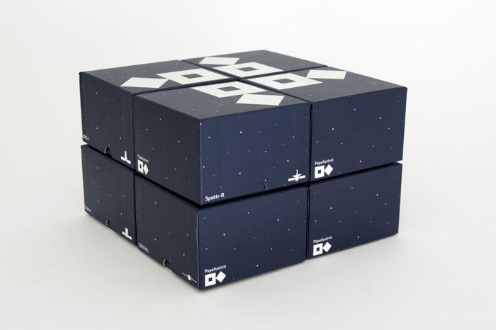 Papafoxtrot. Packaging designed by Postlerferguson.