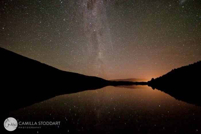 (Lake) Wanaka, South Island, NZ. Milky way, stars. I spent 3,5 month in the winter season 2005 there working and snowboarding – <3