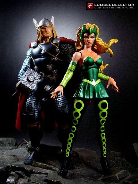 Loosecollector Custom Action Figures Official Website: Amora the Enchantress