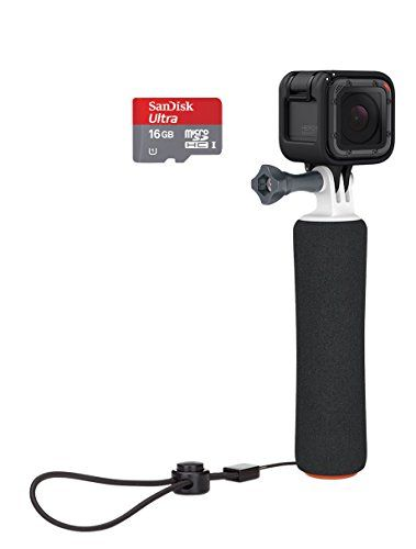 GoPro Camera Bundle, Black (CHDCQ-102) GoPro Records stunning 1440p30, 1080p60 and 720p100 video. Captures 8MP single photos, 10 fps burst photos and 0.5 to 60 second time-lapse photos