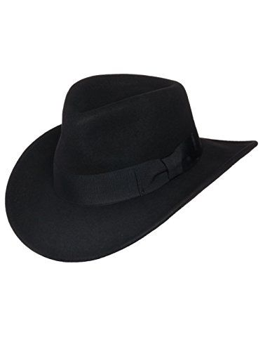 ddd22cc1414 Amazing offer on Men s Indiana Outback Fedora Hat