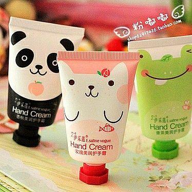 Super lindo mini vestido Q Cartoon Súper embalaje hidratante blanqueamiento heladas grieta ...