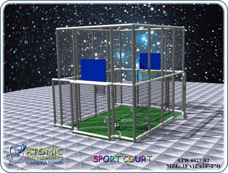 1000 images about indoor fun center ideas on pinterest for Sport court ideas