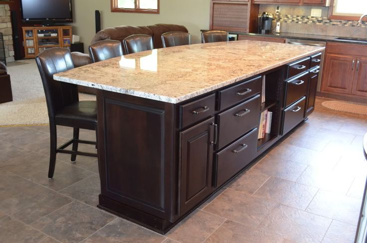 island with koch java cabinet for the home pinterest
