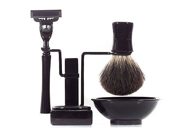 Axwell Shaving Set, Black on OneKingsLane.com