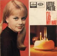 LET ME DREAM / MY LOVE / DON'T WALK AWAY / I'LL EAT MY HAT ~ LITTLE PATTIE 7 inch EP