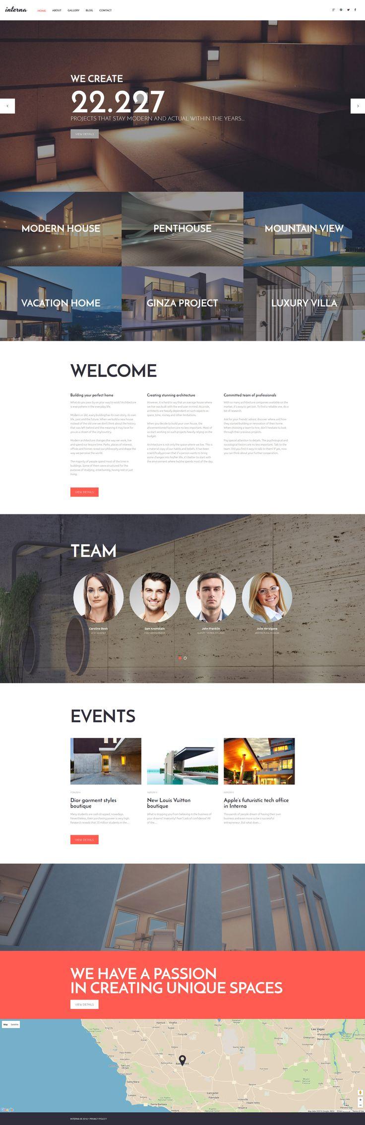 Architecture Portfolio WordPress Theme