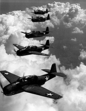 The Mysterious Disappearance of Flight 19 over the Bermuda Triangle; 5 December, 1945.