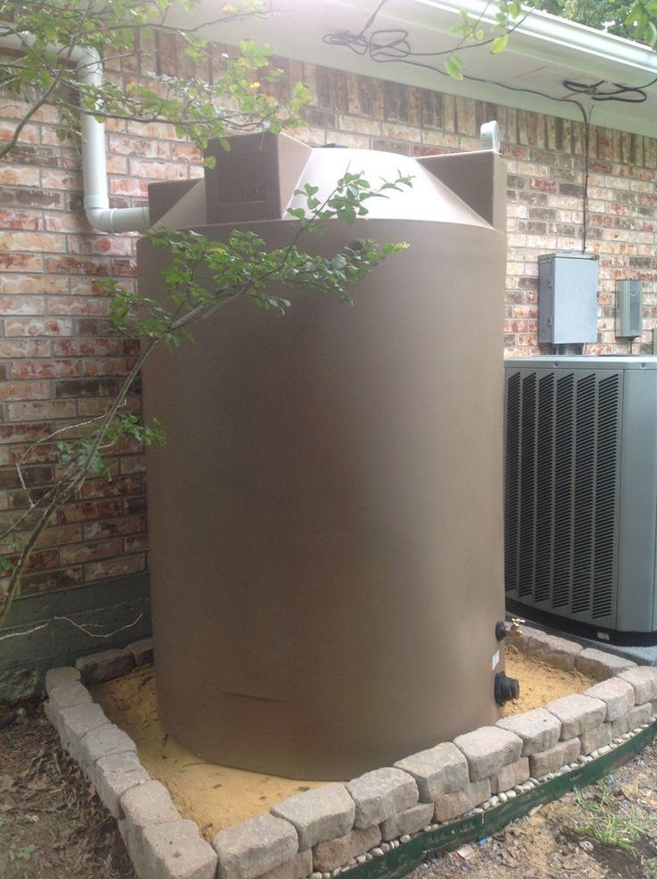 500 Gallon Rainwater Harvesting Tank Rainwater