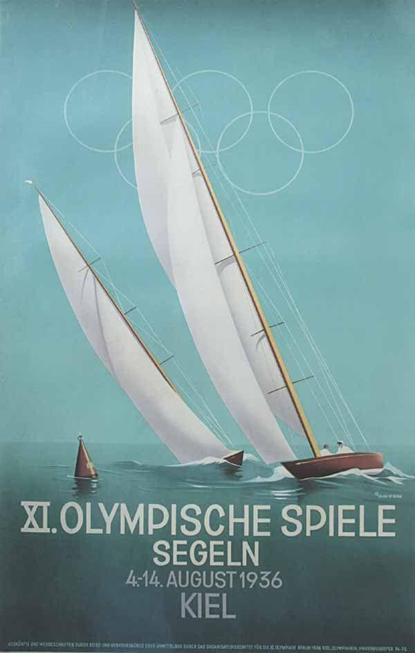 XI.Olympic Games sailing, Kiel (1936) | von Susanlenox