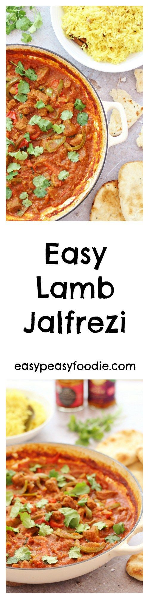 A really easy version of a curry house favourite, this Easy Lamb Jalfrezi is bursting with flavour and only requires a few minutes of hands on time – the perfect fakeaway!