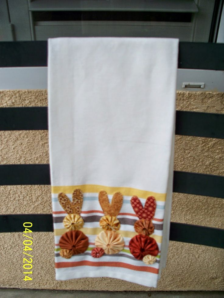Made by Me in Red: Tea Towels for Easter