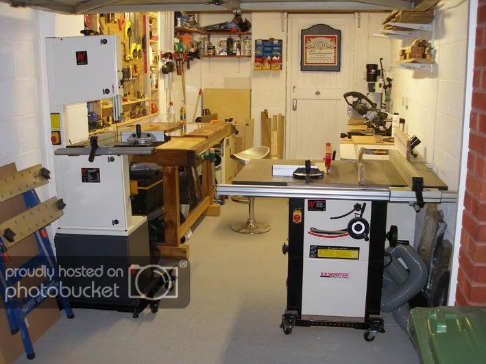 One Car Garage Workshop Layout By Papafran Lumberjocks Com Woodworking Community Workshop Layout Garage Workshop Layout Woodworking Shop Plans